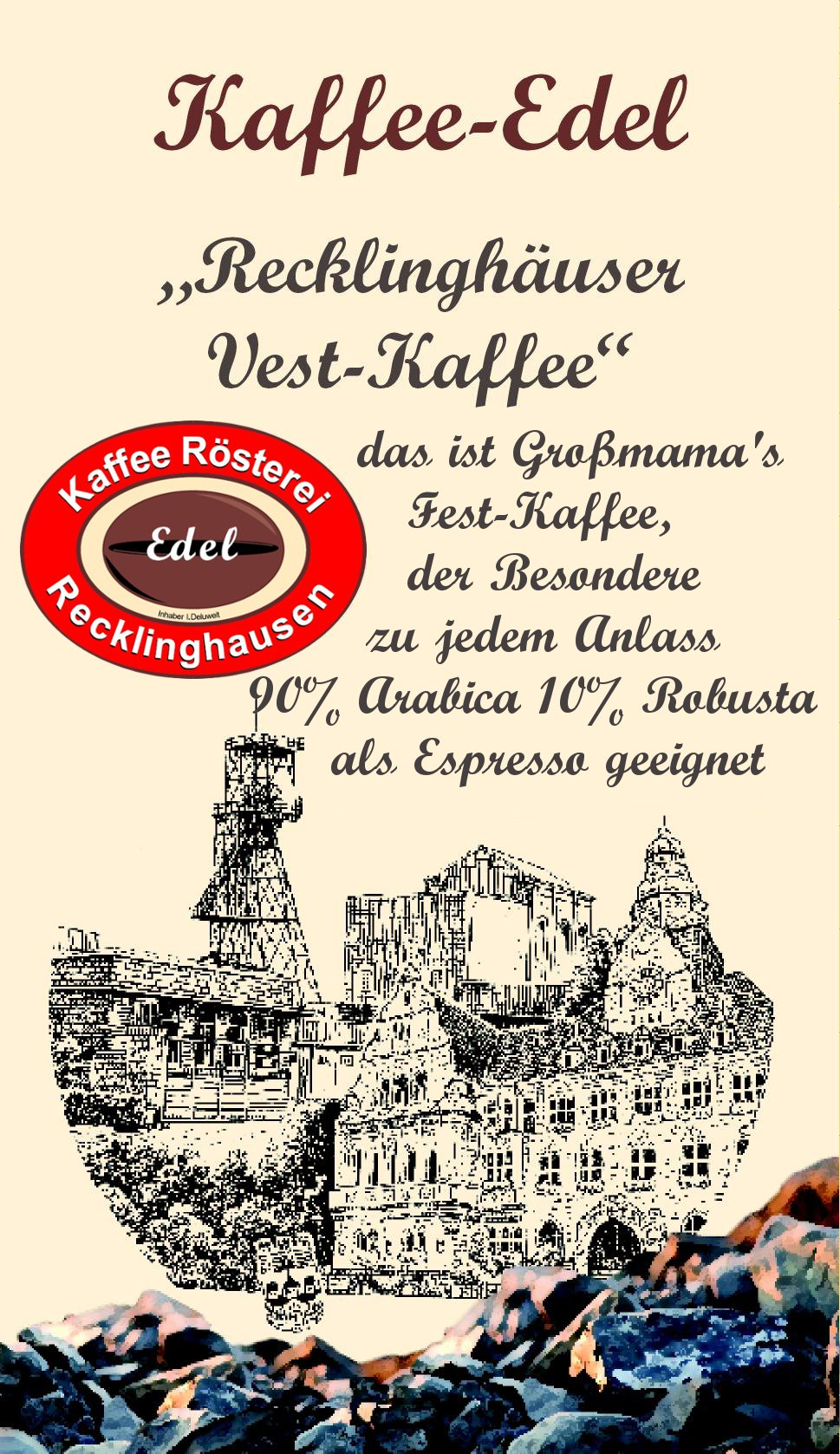 Espresso Recklinghausen kaffee rösterei edel ihre kaffeerösterei in recklinghausen
